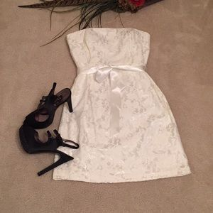 Liliana strapless dress
